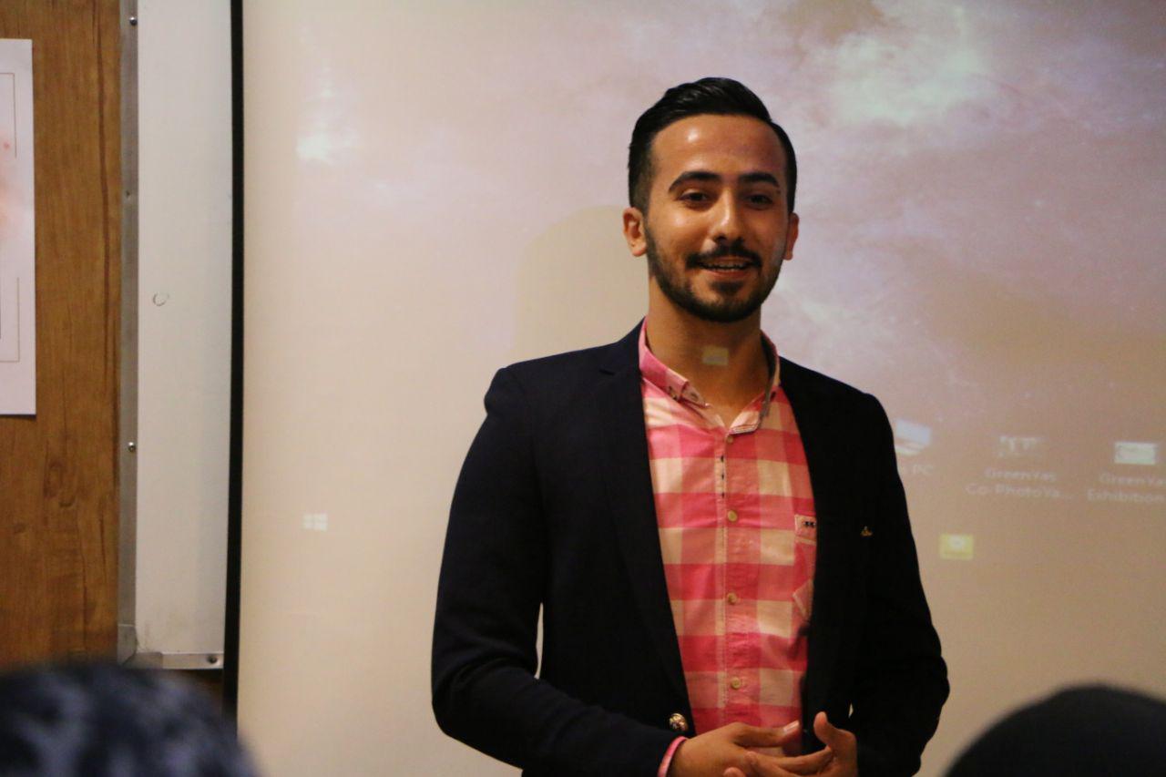 Pooria Haddad پوریا حداد همفکر Hamfekr سخنرانی مشاور کارآفرینی
