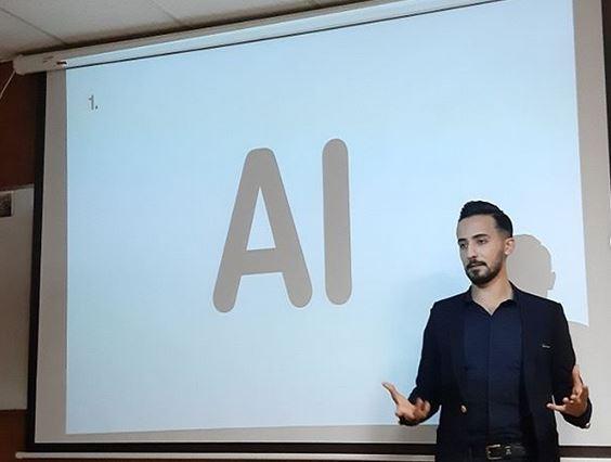 pooria haddad پوریا حداد AI هوش مصنوعی همتاک